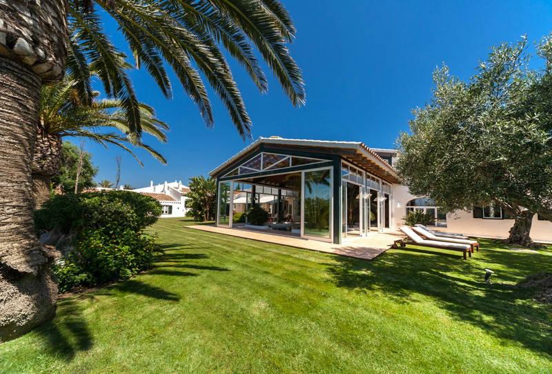 Casa Ses Cuarterades - exterior jardines- MNKVillas