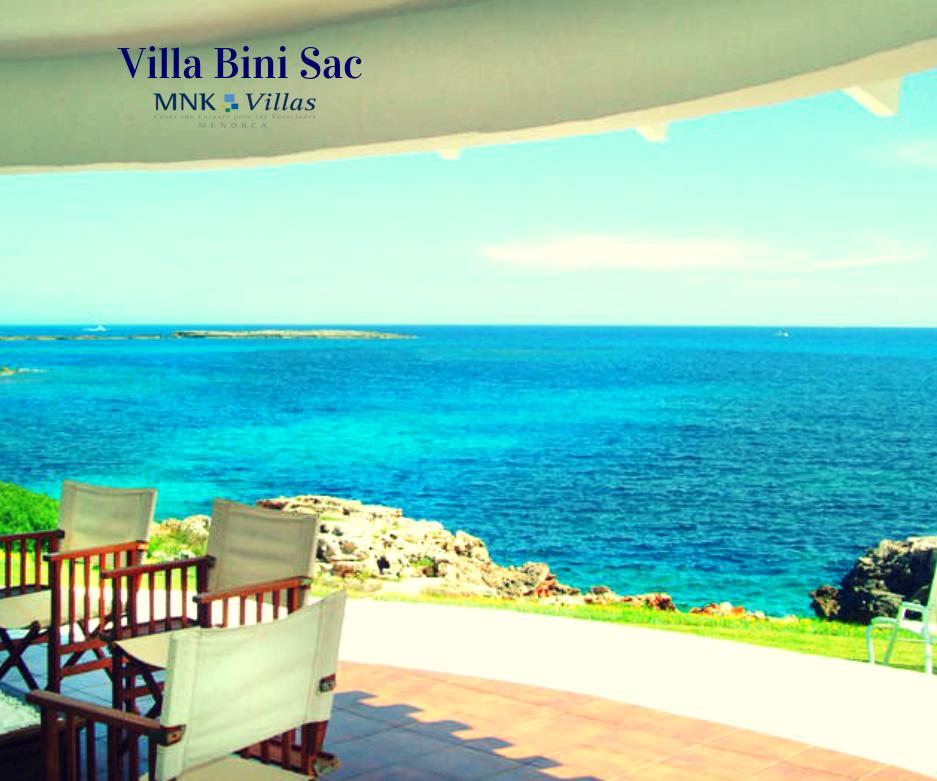 Cuatro casas en menorca de playa para tus vacaciones de verano el blog de mnk villas - Alquiler casa menorca verano ...