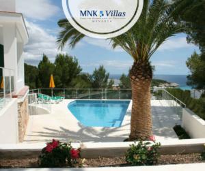 villa paraíso - alquiler de casas en en Menorca
