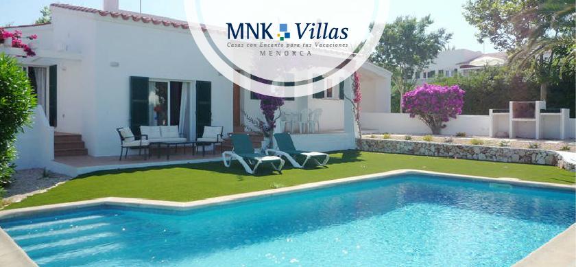 Villas en menorca con piscina y barbacoa vacaciones de for Vacaciones en villas con piscina