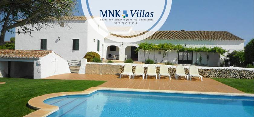 Alquiler de villas en Mahón Menorca- Finca Binimazoch