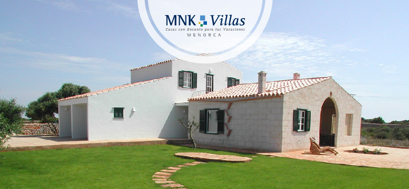Casas con piscina en Menorca_ Casa Aurora