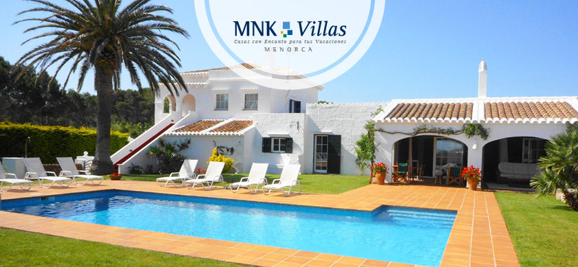 Casas de lujo con piscina finca santa victoria 01 el blog de mnk villas - Casas de lujo en menorca ...