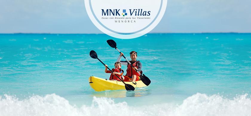 actividades para niños en Menorca