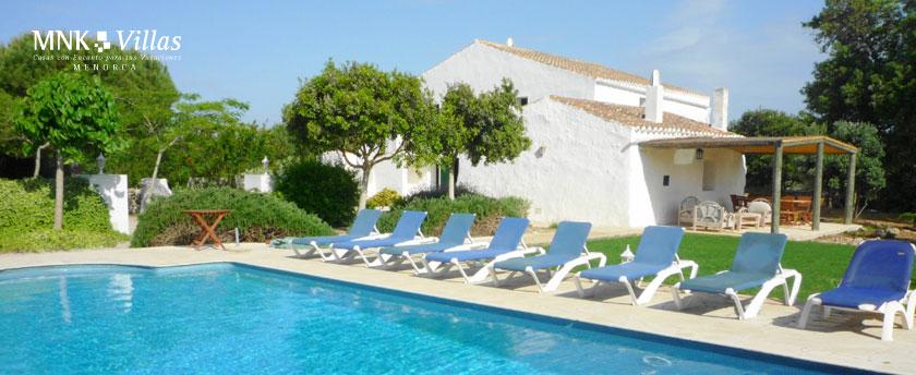 alquiler de casas de lujo en Menorca