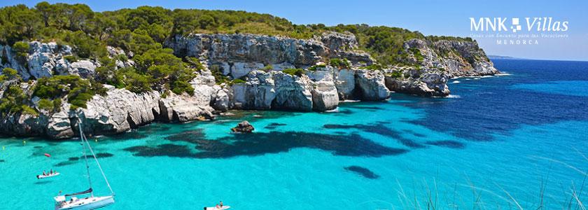 las calas más bonitas de Menorca