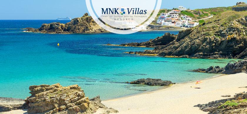 cala Mesquida en Menorca