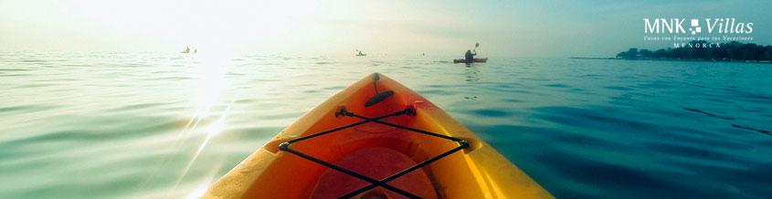 viajes a Menorca en septiembre actividades acuaticas